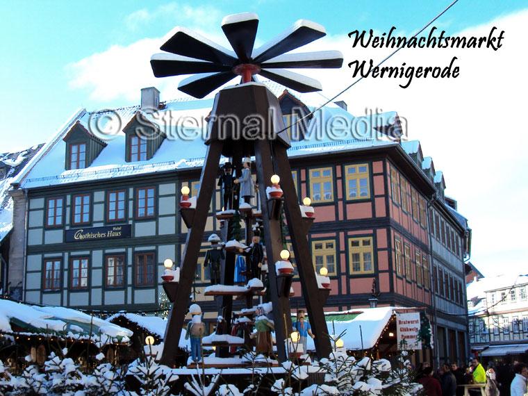 Wernigerode Weihnachtsmarkt.Weihnachtsmärkte Im Harz